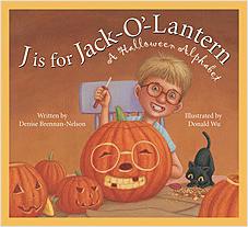 Cover: J is for Jack-O'-Lantern: A Halloween Alphabet