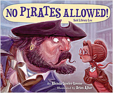 Cover: No Pirates Allowed! Said Library Lou