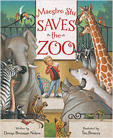 Cover: Maestro Stu Saves the Zoo
