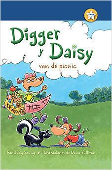 Cover: Digger y Daisy van de picnic (Digger and Daisy Go on a Picnic)