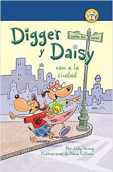 Cover: Digger y Daisy van a la ciudad (Digger and Daisy Go to the City)