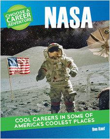 Cover: Choose a Career Adventure at NASA