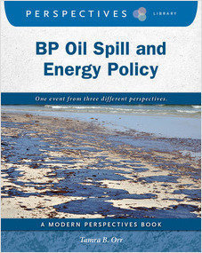 Cover: BP Oil Spill and Energy Policy
