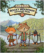 Cover: Lulu & Rocky in Rocky Mountain National Park