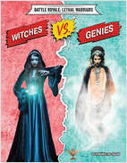 Cover: Witches vs. Genies