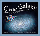 Cover: G is for Galaxy: An Out of This World Alphabet