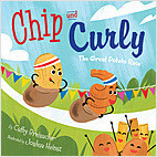 Cover: Chip and Curly: The Great Potato Race