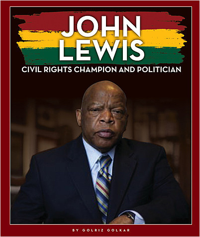Cover: John Lewis: Civil Rights Champion and Politician