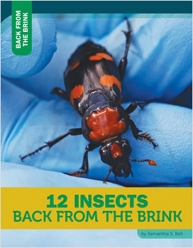 Cover: 12 Insects Back from the Brink