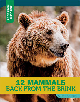 Cover: 12 Mammals Back from the Brink