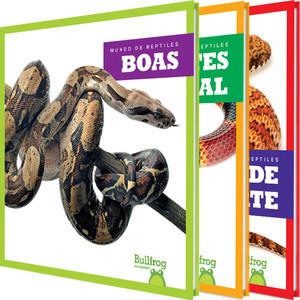 Cover: Mundo de reptiles (Reptile World)