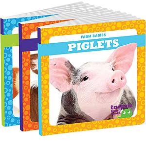 Cover: Farm Babies Board Book Edition