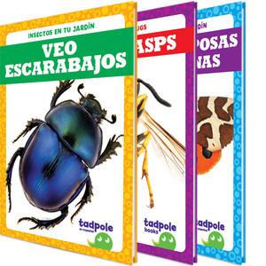 Cover: Insectos en tu jardín (Backyard Bugs)