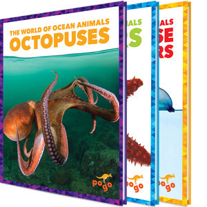 Cover: The World of Ocean Animals