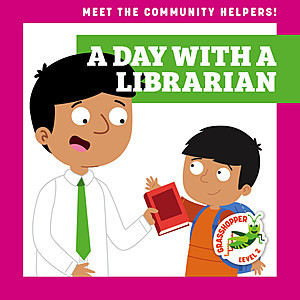 Cover: A Day with a Librarian