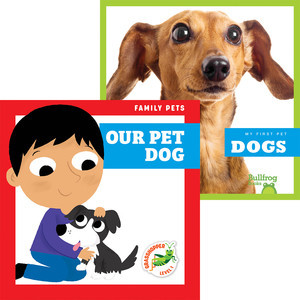 Cover: Dogs + Our Pet Dog