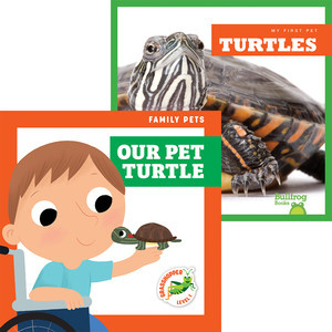 Cover: Turtles + Our Pet Turtle