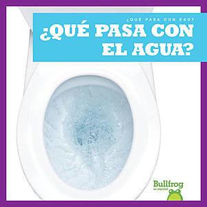 Cover: ¿Qué pasa con el agua? (Where Does Water Go?)