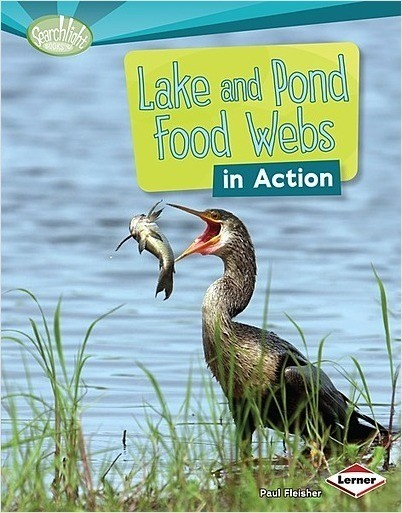 Cover: Lake and Pond Food Webs in Action