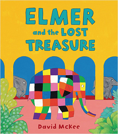 Cover: Elmer and the Lost Treasure