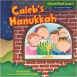 Cover: Caleb's Hanukkah