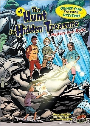 Cover: The Hunt for Hidden Treasure: A Mystery about Rocks