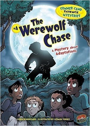 Cover: The Werewolf Chase: A Mystery about Adaptations