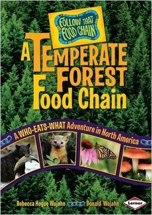 Cover: A Temperate Forest Food Chain: A Who-Eats-What Adventure in North America