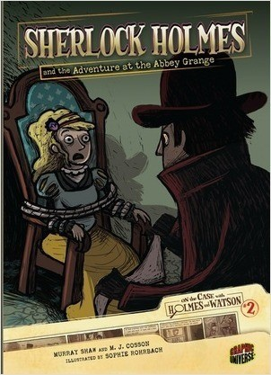 Cover: Sherlock Holmes and the Adventure at the Abbey Grange: Case 2