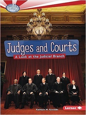 Cover: Judges and Courts: A Look at the Judicial Branch