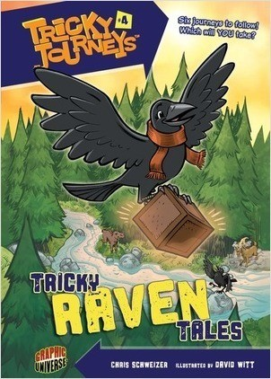 Cover: Tricky Raven Tales: Book 4