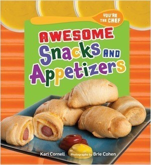 Cover: Awesome Snacks and Appetizers