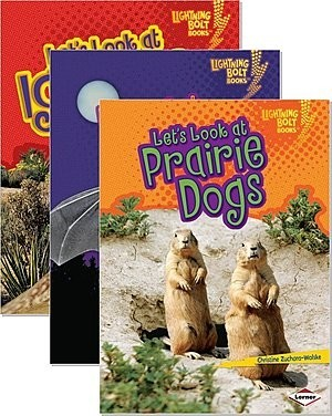 Cover: Lightning Bolt Books ™ — Animal Close-Ups — Interactive Books Set