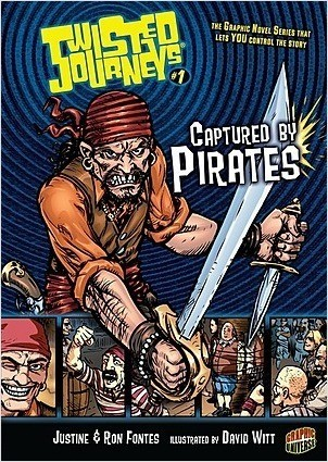 Cover: Captured by Pirates: Book 1