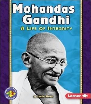 Cover: Mohandas Gandhi: A Life of Integrity