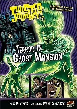 Cover: Terror in Ghost Mansion: Book 3