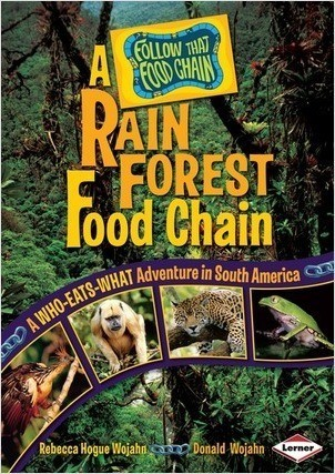Cover: A Rain Forest Food Chain: A Who-Eats-What Adventure in South America