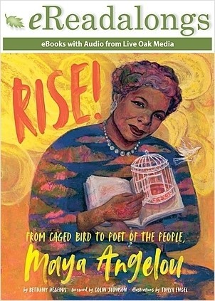 Cover: Rise!: From Caged Bird to Poet of the People, Maya Angelou