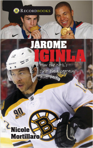Cover: Jarome Iginla: How the NHL's First Black Captain Gives Back