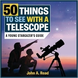Cover: 50 Things to See with a Telescope: A Young Stargazer's Guide