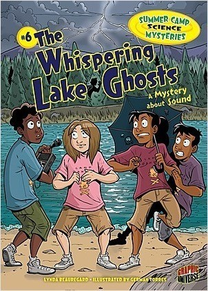 Cover: The Whispering Lake Ghosts: A Mystery about Sound