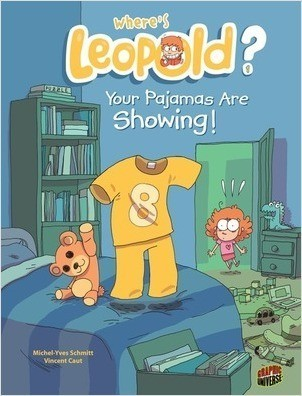 Cover: Your Pajamas Are Showing!: Book 1