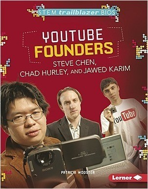 Cover: YouTube Founders Steve Chen, Chad Hurley, and Jawed Karim