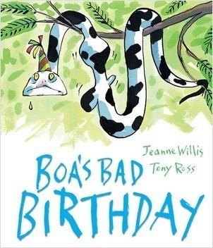 Cover: Boa's Bad Birthday