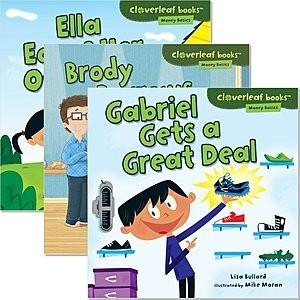 Cover: Cloverleaf Books ™ — Money Basics — Interactive Books Set