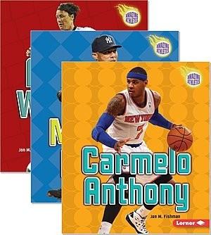 Cover: Amazing Athletes — Interactive Books Set