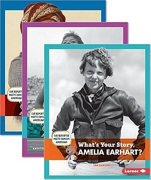 Cover: Cub Reporter Meets Famous Americans — Hardcover Set