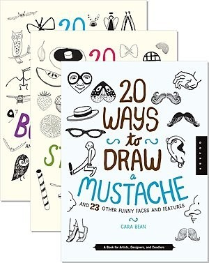 Cover: 20 Ways to Draw — Hardcover Set