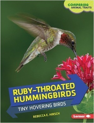 Cover: Ruby-Throated Hummingbirds: Tiny Hovering Birds