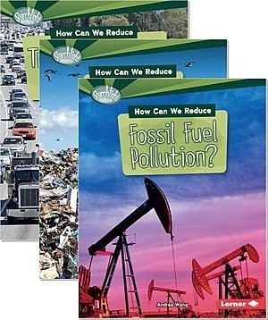 Cover: Searchlight Books ™ — What Can We Do about Pollution? — Hardcover Set